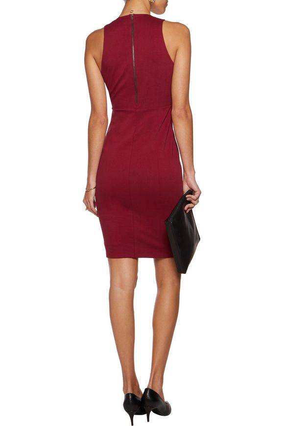 Holster cutout ponte dress | MICHELLE MASON | Sale up to 70% off | THE  OUTNET