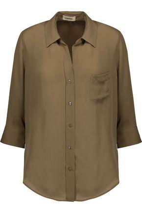 L'AGENCE Ryan silk-chiffon blouse