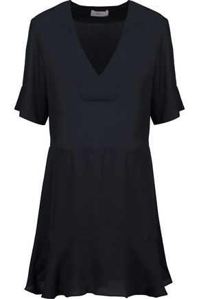 A.L.C. Delaney silk crepe de chine mini dress