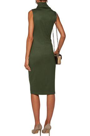 L'AGENCE Sydney ponte turtleneck dress