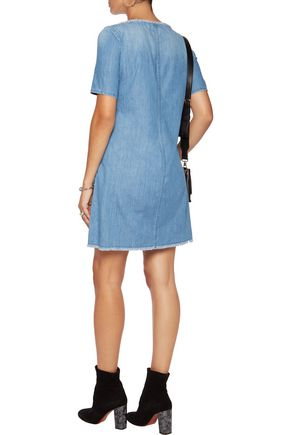 AG Jeans Alton denim mini dress