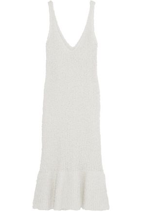 BY MALENE BIRGER Fillon textured stretch-knit midi dress