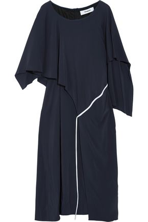 CHALAYAN Draped twill midi dress