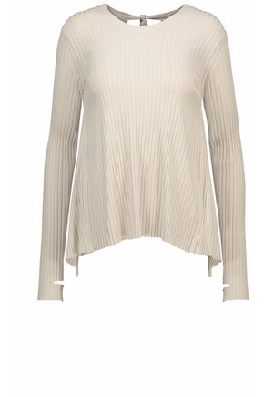 HELMUT LANG Open-back knitted top