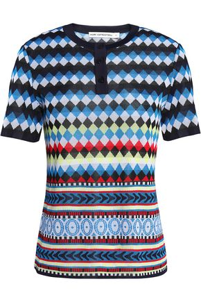 MARY KATRANTZOU Jacquard top