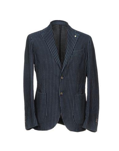 Фото - Мужской пиджак L.B.M. 1911 темно-синего цвета