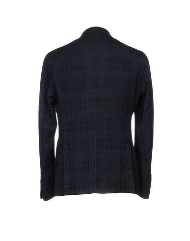 Фото 2 - Мужской пиджак L.B.M. 1911 темно-синего цвета