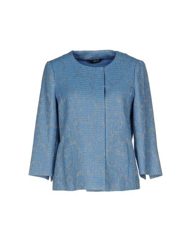 Фото - Женский пиджак  пастельно-синего цвета