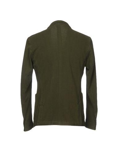 Фото 2 - Мужской пиджак SUN 68 цвет зеленый-милитари