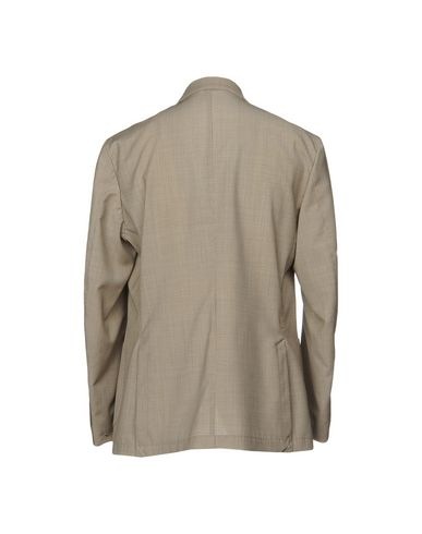 Фото 2 - Мужской пиджак  цвета хаки