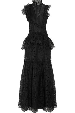 ERDEM Finola embroidered silk-organza gown