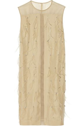 BY MALENE BIRGER Amdi embellished washed-silk dress