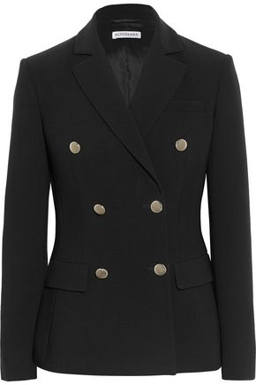 ALTUZARRA Indiana double-breasted crepe blazer