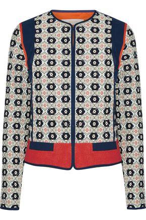 TORY BURCH Rainford fil coupé jacquard jacket