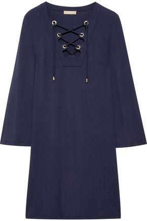 Michael Kors Dresses WOMAN STRETCH-JERSEY MINI DRESS NAVY