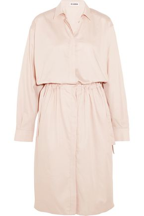 JIL SANDER Cotton shirt dress