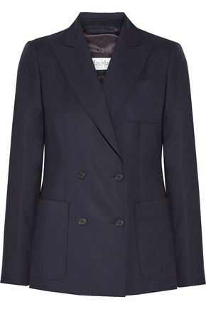 MAX MARA ARPA double-breasted wool-twill blazer