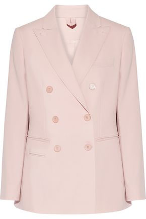 MAX MARA Derrik double-breasted stretch-wool blazer