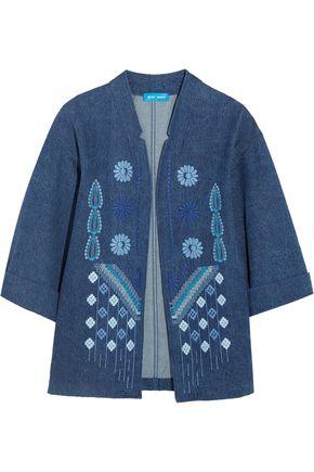 M.I.H JEANS Embroidered denim jacket