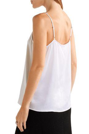 EQUIPMENT Layla washed-silk camisole