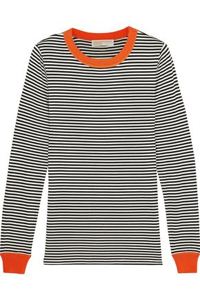MICHAEL MICHAEL KORS Striped stretch-jersey top