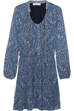 MICHAEL MICHAEL KORS Devonshire printed georgette mini dress