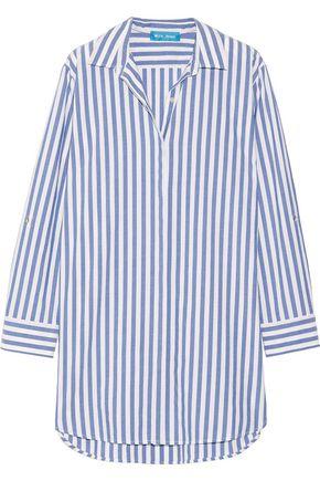 M.I.H JEANS Oversized striped cotton shirt