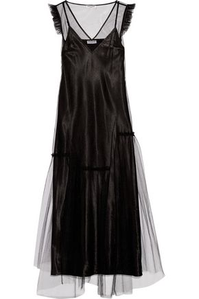 OPENING CEREMONY Ruffle-trimmed tulle maxi dress