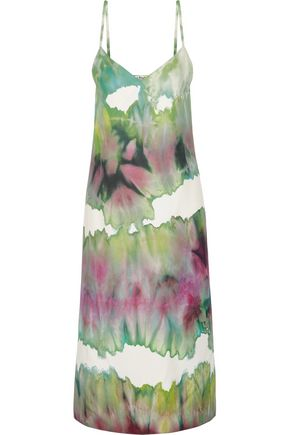 ACNE STUDIOS Sway printed crepe midi dress