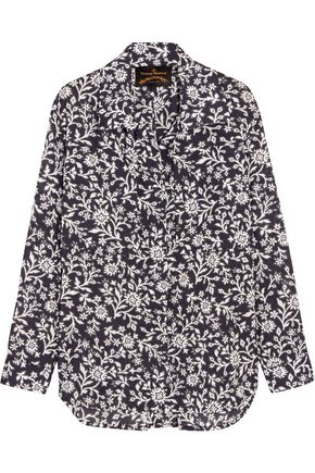 VIVIENNE WESTWOOD ANGLOMANIA Nomad printed cotton-voile shirt