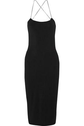 T by ALEXANDER WANG Cutout stretch-modal jersey dress