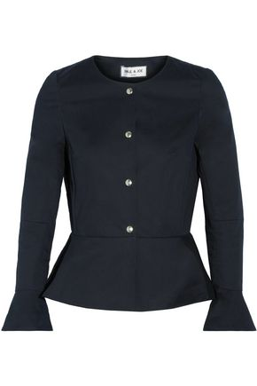 PAUL & JOE Cotton-blend peplum jacket