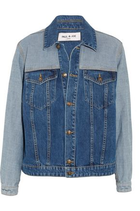 PAUL & JOE Patchwork denim jacket