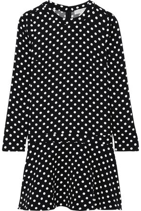 MICHAEL MICHAEL KORS Evelyn polka-dot jersey mini dress