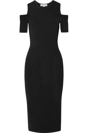 MICHAEL MICHAEL KORS Nyla cold-shoulder stretch-knit dress