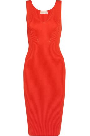 MICHAEL MICHAEL KORS Ribbed stretch-knit dress