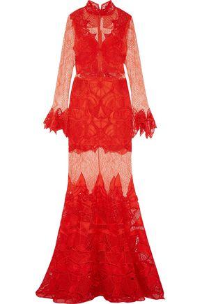 JONATHAN SIMKHAI Guipure lace gown