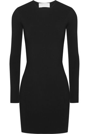 ESTEBAN CORTAZAR Peace Sign cutout jersey mini dress