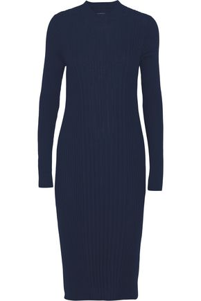 MAISON MARGIELA Ribbed wool midi dress