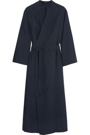 JOSEPH Laurence crepe wrap midi dress