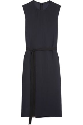 JOSEPH Easton crepe wrap dress