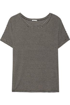 EBERJEY Toni striped stretch-jersey pajama top