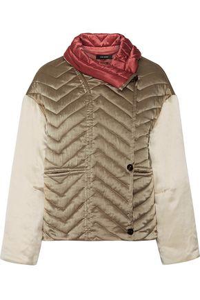 ISABEL MARANT Hector padded silk-shell jacket