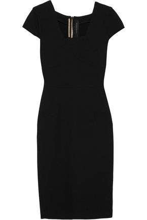 ROLAND MOURET Whistler stretch-crepe dress