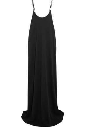 VETEMENTS + Hanes Red Carpet oversized printed cotton-jersey maxi dress