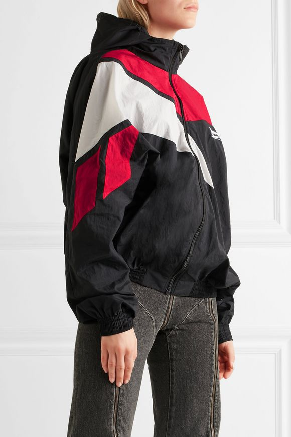 + Reebok oversized hooded shell jacket | VETEMENTS | Sale up to 70% off |  THE OUTNET