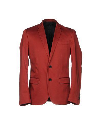 Фото - Мужской пиджак  красно-коричневого цвета