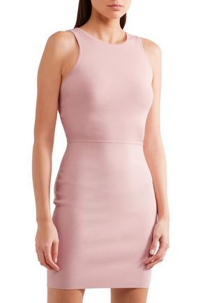 ELIZABETH AND JAMES Ritter stretch-ponte mini dress