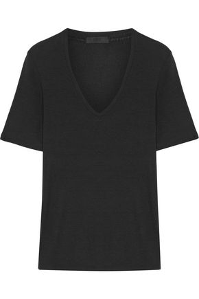 ATM Ribbed stretch-Micro Modal T-shirt