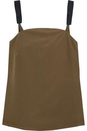 ZEUS + DIONE Olea silk crepe de chine camisole
